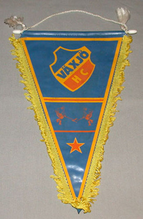 Original Vintage Sweden Vaxjo Hockey Club Pennant Ebay