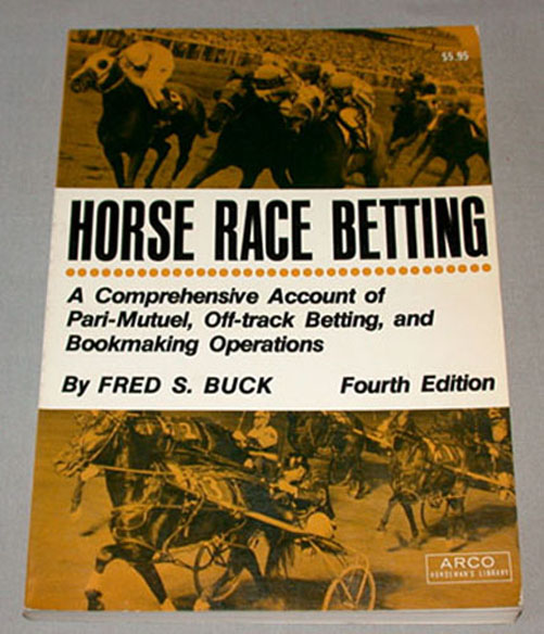 Betting on Horse Racing For Dummies pdf